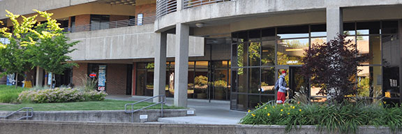 LBCC Albany  campus Library entrance